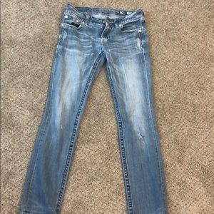Miss me Size 28 light blue jeans